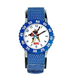 Marvel® Boys' Thor Blue Time Teacher Watch