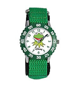 Disney® Boys' Muppets Green Time Teacher Watch