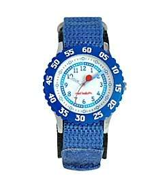 Red Balloon Boys' Blue Time Teacher Watch