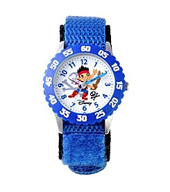 Disney® Boys' Jake Blue Time Teacher Watch