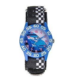 Disney® Boys' Cars Plastic Black Time Teacher Watch