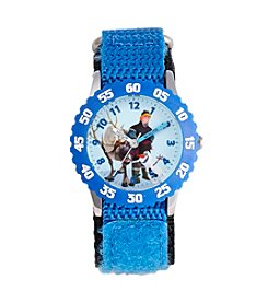 Disney® Boys' Kristoff & Sven Blue Time Teacher Watch