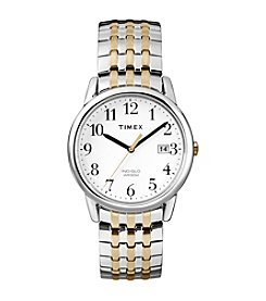 Timex® Men's Easy Reader Dressy Expansion Band Watch