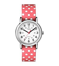 Timex® Women's Weekender™ Slip Thru Strap Watch