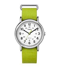 Timex® Weekender™ Slip Thru Strap Watch
