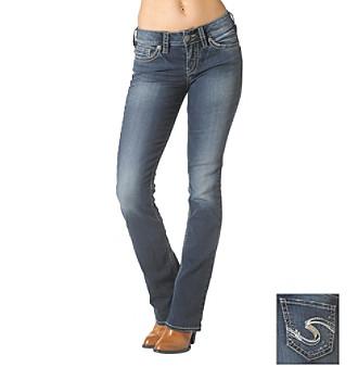 Silver Jeans Denim Womens Suki Bootcut Med Wash L93616SSF384