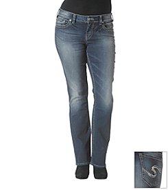 Silver Jeans Plus Size Suki Mid Slim Bootcut Jeans