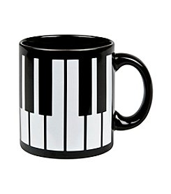 Waechtersbach Piano Keys Set of 4 Mugs