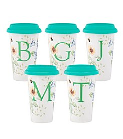 Lenox® Butterfly Meadow® Personalized Travel Mug