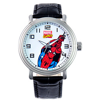 Marvel® Men's Spider-Man Vintage Black Watch