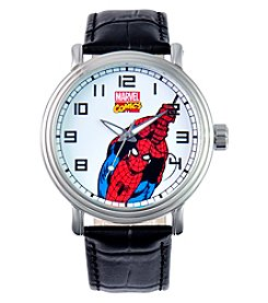 Marvel® Spider-Man Men's Vintage Black Watch