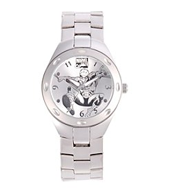Marvel® Spider-Man Men's Fortaleza Silvertone Watch