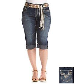 Wallflower® Plus Size Camilla Curvy Skimmer Shorts