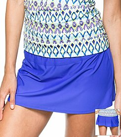 Athena® Solid A-Line Skirt