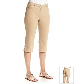 Ruby Rd.® Au Natural Solid Denim Capri