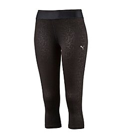 PUMA® Embossed Crop Tights