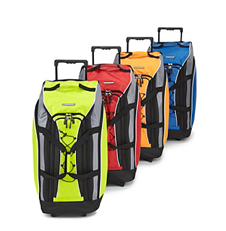 "Ciao! 30"" Wheeled Duffel Bag with Front Bungee Cord"