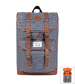 Benrus Scout Navy Stripe Backpack