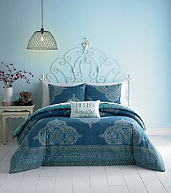 Jessica Simpson Aylin Medallion Comforter Bedding Collection