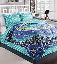 LivingQuarters Elizabeth 4-pc. Comforter Set