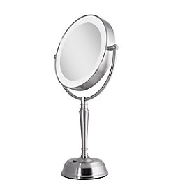 Zadro LED Lighted Vanity Mirror with Rechargeable Battery & USB Port