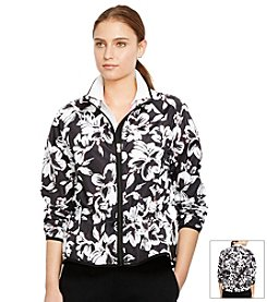 Lauren Active® Floral Windbreaker Jacket