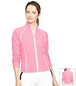Lauren Active Jersey Track Jacket