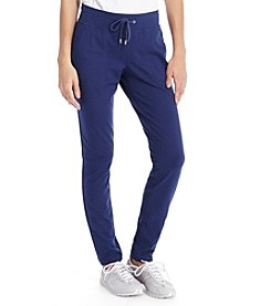 Lauren Active® Straight-Leg Stretch Pants