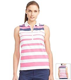 Lauren Active® Cotton Jersey Short Sleeve Top