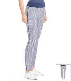 Lauren Active® Striped Capri Legging