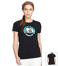 Lauren Active® Nautical-Print Graphic T-Shirt