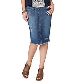 Democracy Denim Skirt