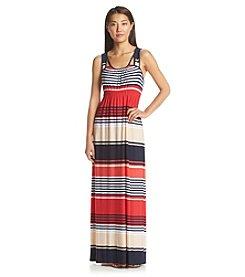 Oneworld® Stripe Maxi Dress