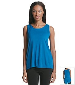 Vince Camuto® Lace Shoulder Top