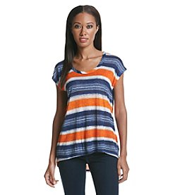 MICHAEL Michael Kors® Capri High-Low Stripe Top