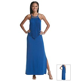 MICHAEL Michael Kors® Fringe Maxi Dress