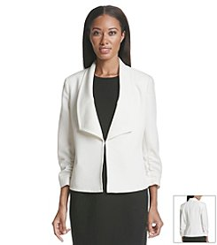 Kasper® Ruched Sleeve Jacket