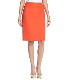 Kasper® Textured Skirt