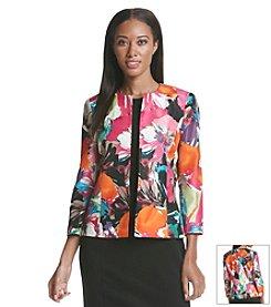 Kasper® Floral Print Jacket
