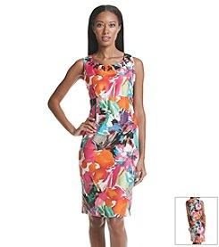 Kasper® Floral Print Dress