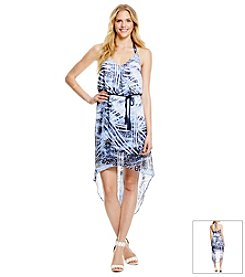 Jessica Simpson Printed Hi-Lo Dress