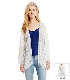 Jessica Simpson Lace Kimono
