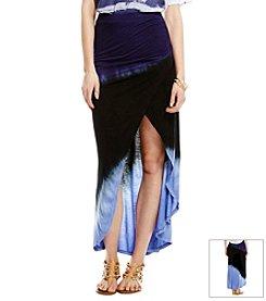 Jessica Simpson Dip Dye Maxi Skirt