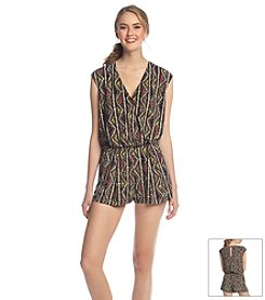 BCBGeneration™ Printed Short Romper