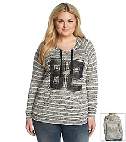 Chance or Fate® Plus Size Athletic Hoodie