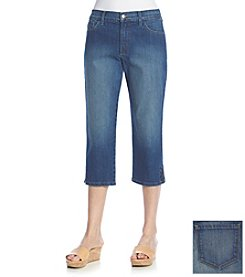 NYDJ® Rhinestone Hem Cropped Jeans