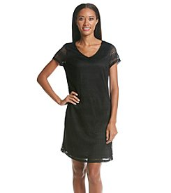 Andrew Marc® Crochet Dress