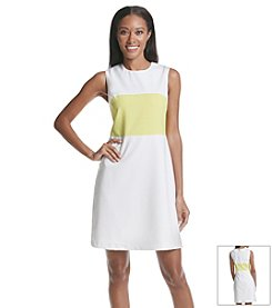 Andrew Marc® Colorblock Dress