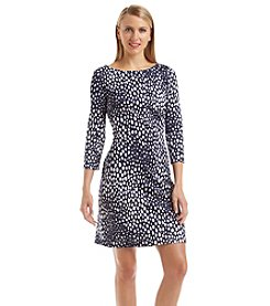 Nine West® Multi Dot Scuba Dress