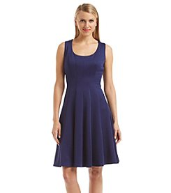 Nine West®Scuba Fit And Flare Dress